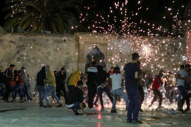 Ιερουσαλήμ: 17 τραυματίες από συγκρούσεις Παλαιστίνιων και Ισραηλινών | tovima.gr