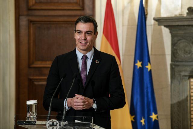 Πέδρο Σάντσεθ: «Η στήριξή μας στην εδαφική ακεραιότητα της Ελλάδας είναι κατηγορηματική» | tovima.gr