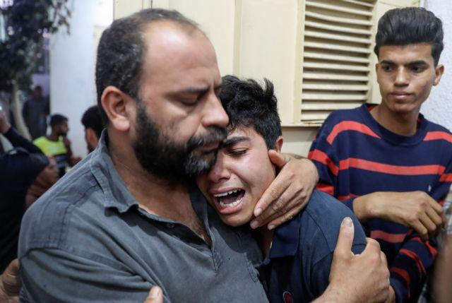 Λωρίδα της Γάζας: 20 νεκροί και 65 οι τραυματίες από τους βομβαρδισμούς | tovima.gr