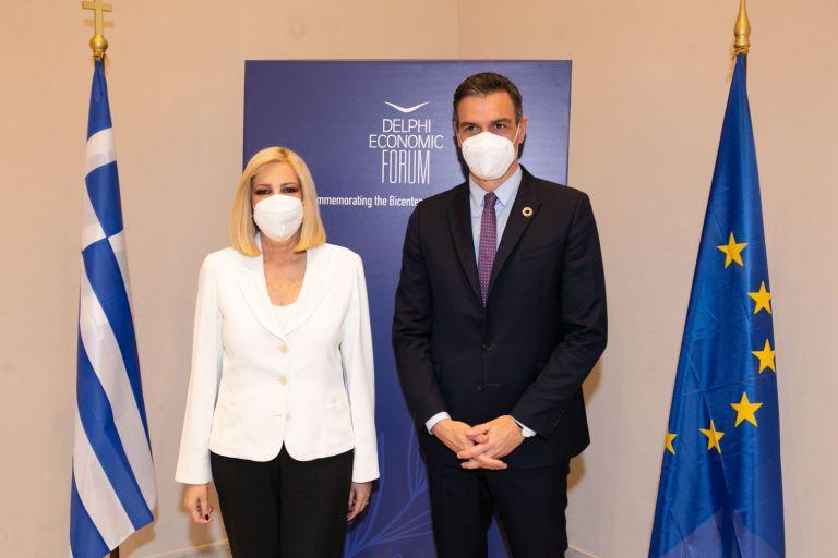 Γεννηματά-Σάντσεθ: Οι σοσιαλιστές πρωταγωνιστές για ένα νέο πράσινο κοινωνικό συμβόλαιο   tovima.gr