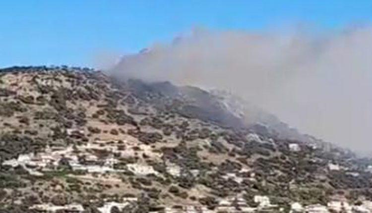 Πυρκαγιά στην Αγία Μαρίνα Κορωπίου – Μεγάλη κινητοποίηση της πυροσβεστικής   tovima.gr