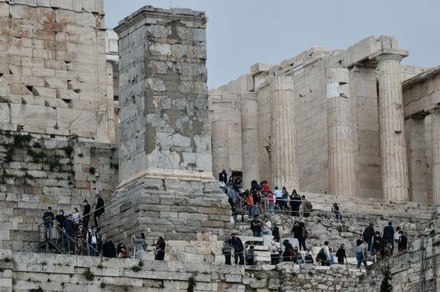 Υπ. Πολιτισμού: Διαψεύδει ότι έγιναν εργασίες με κομπρεσέρ στην Ακρόπολη   tovima.gr
