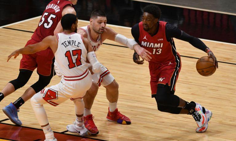 NBA: Σπουδαίο διπλό για τους Χιτ στη Βοστόνη, πέρασαν από το Σικάγο οι Νετς | tovima.gr