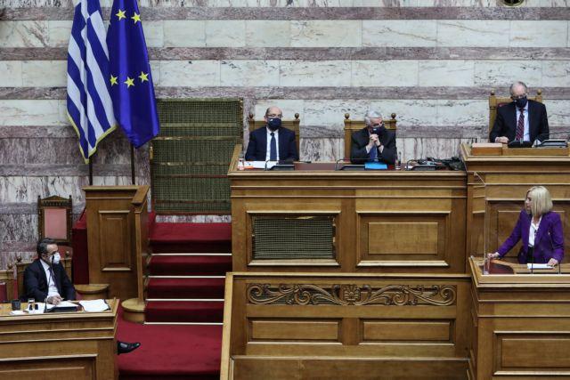 Στις 18 Μαΐου η συζήτηση στη Βουλή για τον κλιματικό νόμο | tovima.gr
