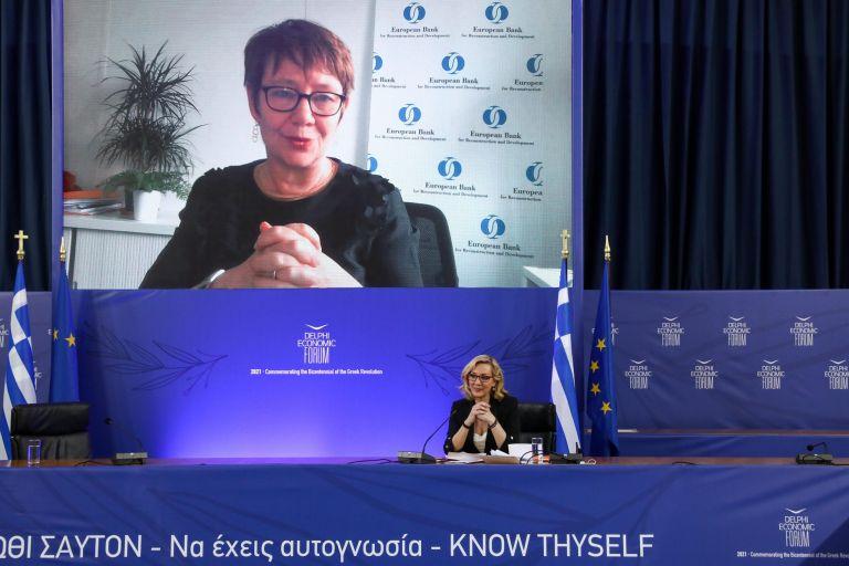 "Delphi Forum- EBRD President: ""For us Greece is a success story"" | tovima.gr"