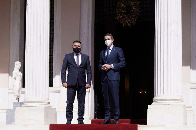 Πλήρη και συνεπή εφαρμογή της Συμφωνίας των Πρεσπών ζήτησε ο Μητσοτάκης από τον Ζάεφ   tovima.gr