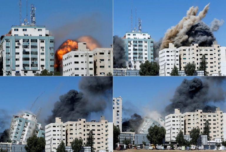 Γάζα: Συγκλονιστικό βίντεο του AP από την εκκένωση του κτιρίου πριν βομβαρδιστεί | tovima.gr