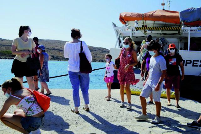 Κορωνοϊός: Ανοίγει ο δρόμος για την κατάργηση της μάσκας σε εσωτερικούς χώρους | tovima.gr