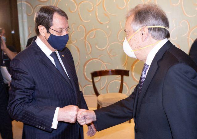 Αναστασιάδης: Δεν θα υπάρξει θετική ατζέντα με την Τουρκία, αν αξιώνει λύση δύο κρατών | tovima.gr