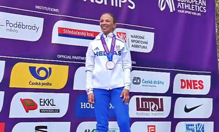 Χρυσό μετάλλιο η Ντρισμπιώτη στο Ευρωπαϊκό Κύπελλο Βάδην | tovima.gr