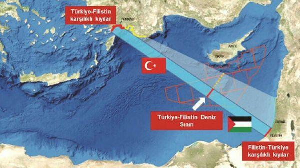 Τουρκία : Βλέψεις για θαλάσσια συμφωνία με την Παλαιστίνη με στόχο να χαλάσει τα σχέδια Ελλάδας, Κύπρου | tovima.gr