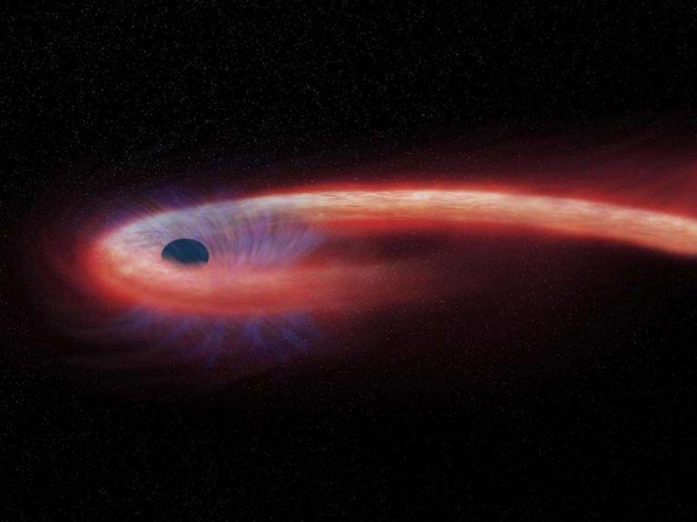 Μαύρη τρύπα συνελήφθη να καταπίνει άστρο στο μέγεθος του Ήλιου | tovima.gr