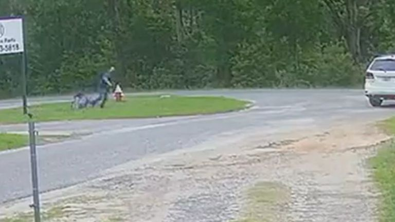 ΗΠΑ: Συγκλονιστικές εικόνες με 11χρονη ηρωίδα που γλιτώνει από τον επίδοξο απαγωγέα της   tovima.gr