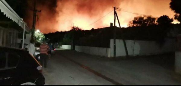 Φωτιά: «Είναι δραματική η κατάσταση» λέει ο πρόεδρος του Σχίνου Κορινθίας | tovima.gr