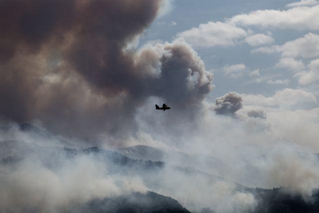 Δήμαρχος Μεγαρέων: Ανεξέλεγκτη η κατάσταση με τη μεγάλη φωτιά στα Γεράνεια   tovima.gr