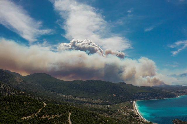 Χαρδαλιάς: Θα είναι μια δύσκολη νύχτα – Έτσι ξεκίνησε η πυρκαγιά στην Κορινθία   tovima.gr