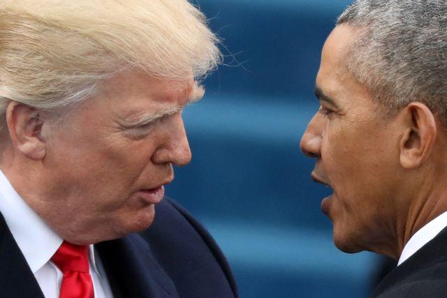 Γαμ…ος παράφρονας» και «διεφθαρμένος μαλ…ας» – Τα… κοσμητικά επίθετα του Ομπάμα στον Τραμπ | tovima.gr