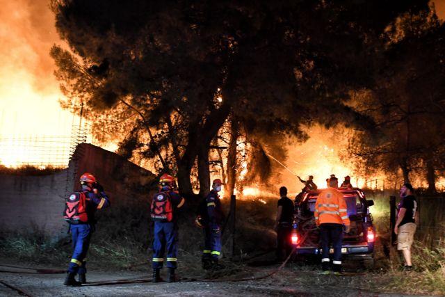 Φωτιά στην Κορινθία: Οι μαρτυρίες των κατοίκων στο MEGA   tovima.gr