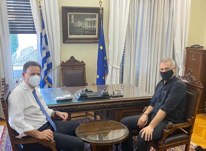 Ταμείο Ανάκαμψης: Συνάντηση Μώραλη – Σκυλακάκη για μεγάλα έργα στον Πειραιά   tovima.gr