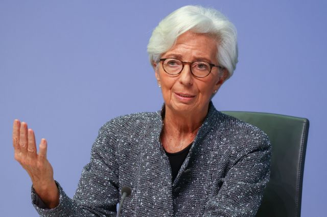 Λαγκάρντ: «Είναι νωρίς να μιλήσουμε για περιορισμό της αγοράς ομολόγων» | tovima.gr