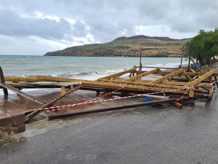 Στη Λέσβο Πέτσας και Αθανασίου για τις ζημιές από την κακοκαιρία   tovima.gr