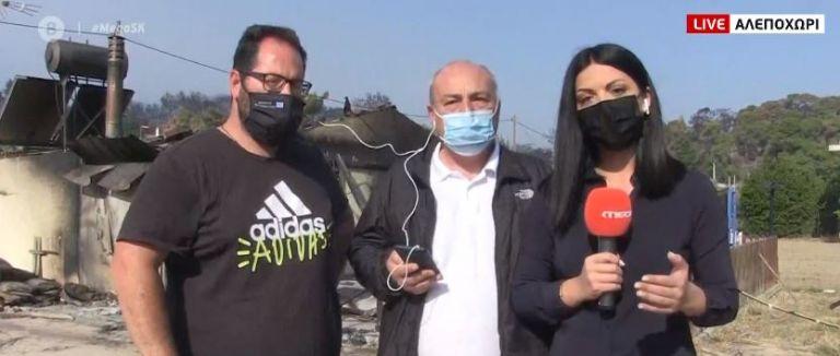 Συγκλονίζουν οι πυρόπληκτοι: «Καταστροφή, απόλυτη καταστροφή» | tovima.gr