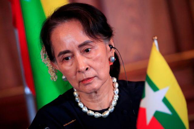 Μιανμάρ: Η ΕΕ καταγγέλλει τα σχέδια της εκλογικής επιτροπής της χούντας να διαλύσει το κόμμα της Σου Τσι   tovima.gr