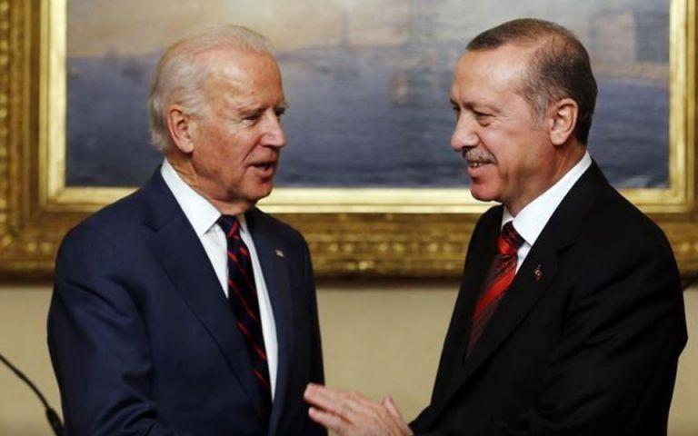 Ερντογάν: Μετά τις απειλές… ευελπιστεί σε «νέα εποχή» ήρεμων σχέσεων μεταξύ Τουρκίας – ΗΠΑ   tovima.gr