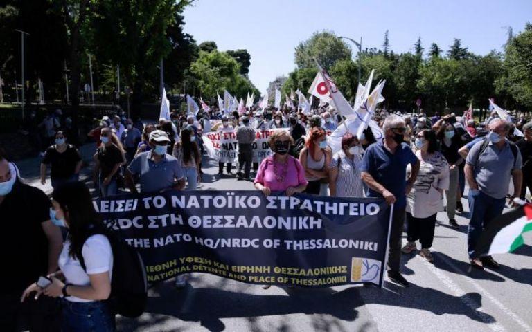 Αντιπολεμικό συλλαλητήριο στη Θεσσαλονίκη | tovima.gr