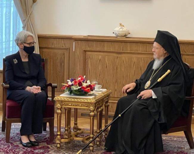 Οικουμενικό Πατριαρχείο: Επίσημη επίσκεψη της αναπληρώτριας υπ. Εξωτερικών των ΗΠΑ | tovima.gr