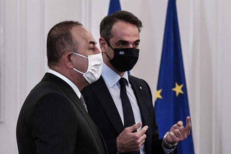 Hopes for normalisation of Greek-Turkish ties after Cavusoglu's talks with Mitsotakis-Dendias | tovima.gr