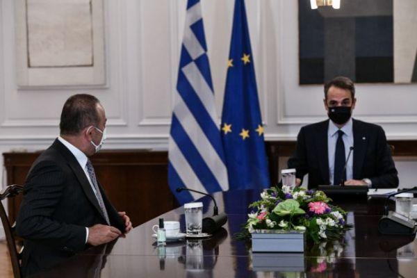 Στο Μαξίμου ο Τσαβούσογλου – Κρίσιμη συνάντηση με Μητσοτάκη | tovima.gr