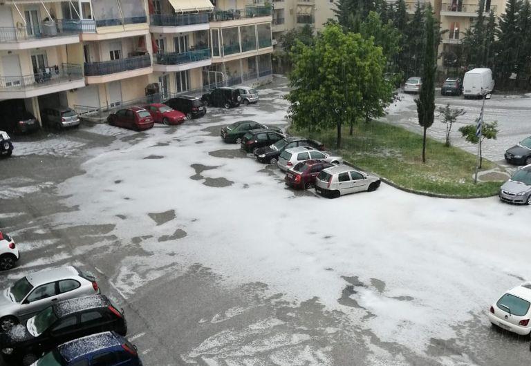 Καιρός: Ισχυρή καταιγίδα και χαλάζι στην Ξάνθη – «Βούλιαξαν» δρόμοι | tovima.gr