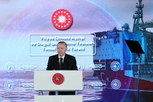 Ερντογάν: Ανακοίνωσε την ανακάλυψη μεγάλου κοιτάσματος φυσικού αερίου στη Μαύρη Θάλασσα   tovima.gr