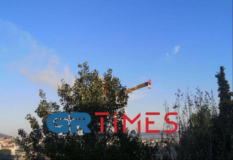 Θεσσαλονίκη: Έσβησε η φωτιά στον δήμο Πυλαίας με συνδρομή αεροσκαφών – Σε επιφυλακή για αναζωπυρώσεις   tovima.gr