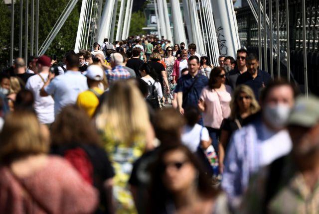 Βρετανία: Η παραλλαγή Δέλτα είναι κατά 40% πιο μεταδοτική σύμφωνα με τις Αρχές | tovima.gr
