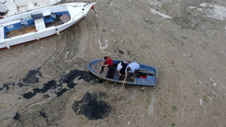 Τουρκία: Μυστηριώδης γλίτσα «πνίγει» τη θάλασσα του Μαρμαρά – Κινδυνεύει το Αιγαίο; | tovima.gr