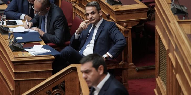 Ο Τσίπρας φέρνει τον Μητσοτάκη στη Βουλή για τα φέσια της ΝΔ   tovima.gr
