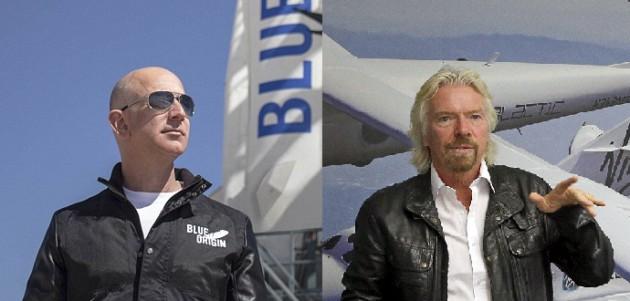 Τζεφ Μπέζος vs Ρίτσαρντ Μπράνσον: Τελικά ποιος θα ταξιδέψει πρώτος στο Διάστημα; | tovima.gr