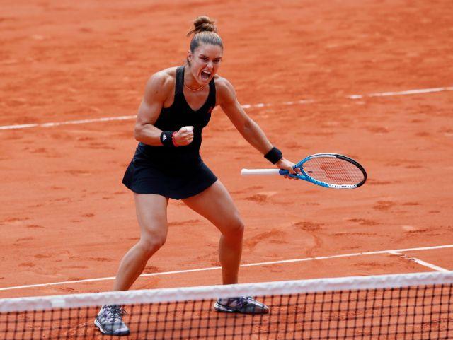 Σάκκαρη: Δεν έχει τέλος το όνειρο – Στους «4» του Roland Garros   tovima.gr