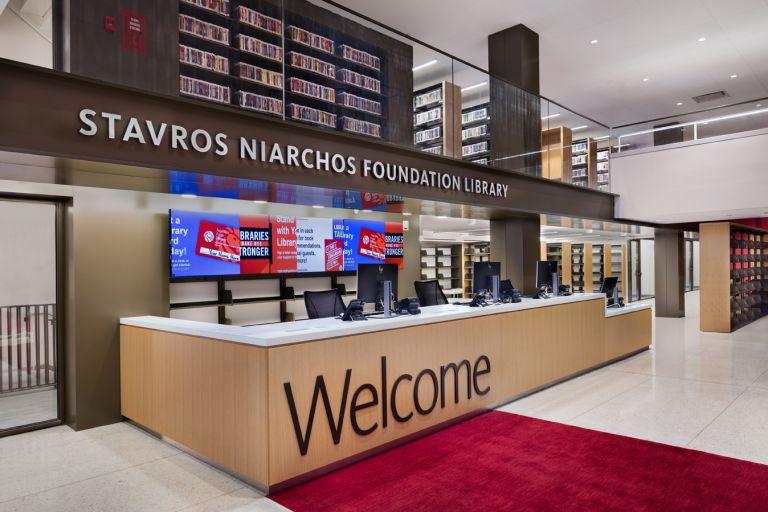 Η νέα Βιβλιοθήκη του Ιδρύματος Σταύρος Νιάρχος στO Μανχάταν   tovima.gr