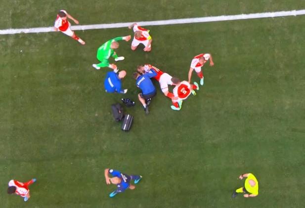 EURO2020: Εικόνες που κόβουν την ανάσα από την κατάρρευση του Έρικσεν   tovima.gr
