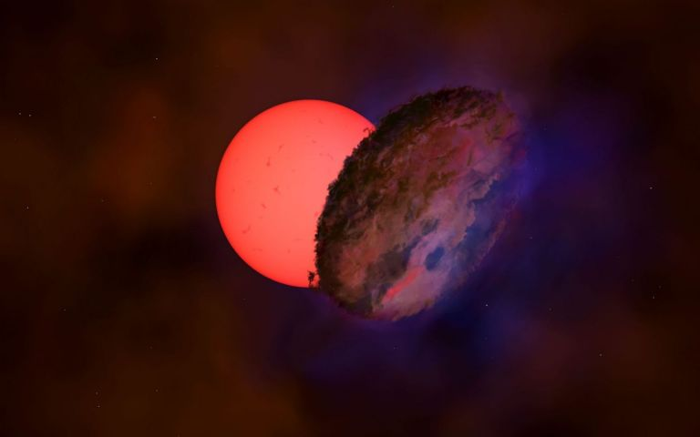Εντυπωσιακή ανακάλυψη – Δείτε το γιγάντιο άστρο που «αναβοσβήνει» | tovima.gr