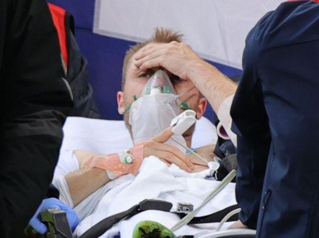Κρίστιαν Έρικσεν: Το πρώτο μήνυμα από το νοσοκομείο   tovima.gr