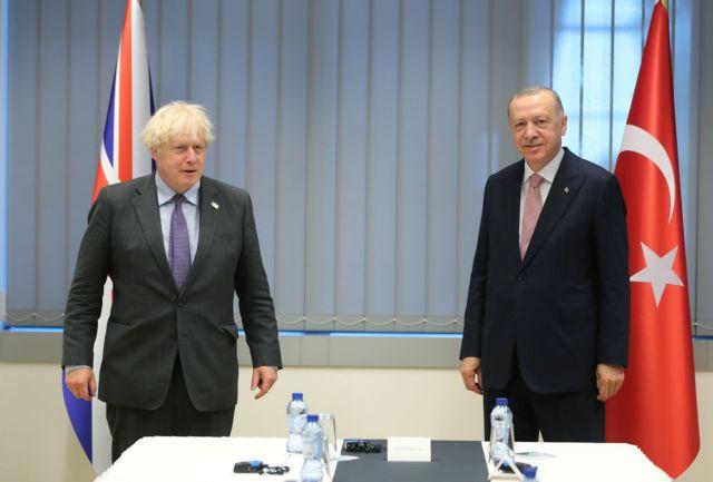 Τζόνσον – Ερντογάν: Τι συζήτησαν για Κυπριακό και Αν. Μεσόγειο | tovima.gr