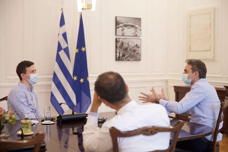 Μητσοτάκης: Συνάντηση με τον ιδρυτή της Instashop – Συνειδητή επιλογή μου να βρίσκομαι κοντά στις Start-up επιχειρήσεις | tovima.gr
