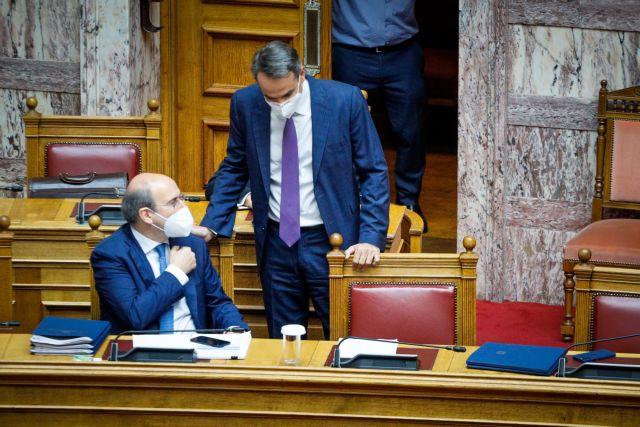 Σύγκρουση για το Εργασιακό: Live η ομιλία Μητσοτάκη τη Βουλή   tovima.gr