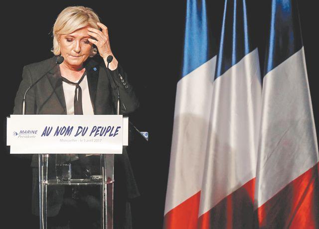 Γαλλία: Απογοήτευση για τη Μαρίν Λεπέν   tovima.gr