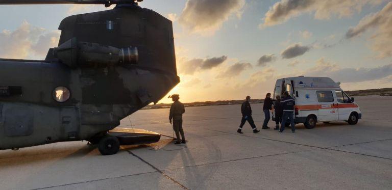Εκτόξευση αεροδιακομιδών με ελικόπτερα του Στρατού Ξηράς | tovima.gr