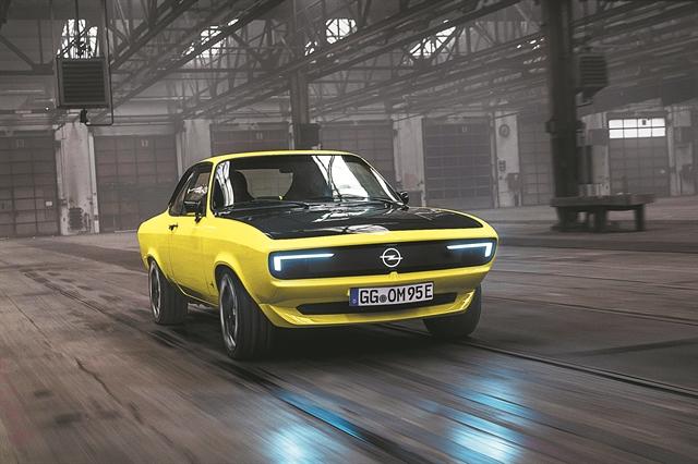 Opel Manta GSe ElektroMOD   tovima.gr